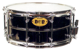 14x6.5 Black Chrome Brass